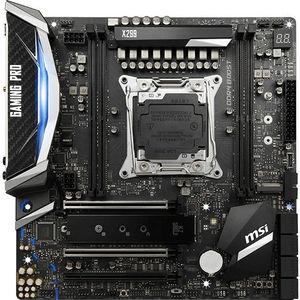 MSI X299M PRO CARBON AC Desktop Motherboard - Intel Chipset - Socket R4 LGA-2066