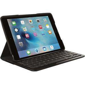 Logitech 920-007953 Focus Keyboard/Cover Case (Folio) for iPad mini 4 - Black