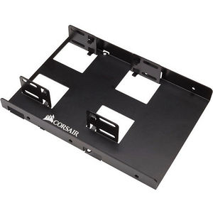 Corsair CSSD-BRKT2 Mounting Bracket for Hard Disk Drive - 2 x Solid State Drives