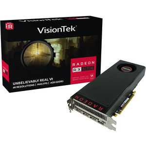 VisionTek 900961 Radeon RX 570 Graphic Card - 1.17 GHz Core - 4 GB GDDR5 - PCI Express x16