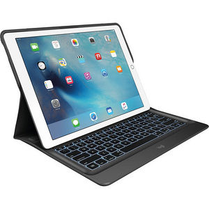Logitech 920-007824 CREATE Keyboard/Cover Case (Folio) for iPad Pro - Black