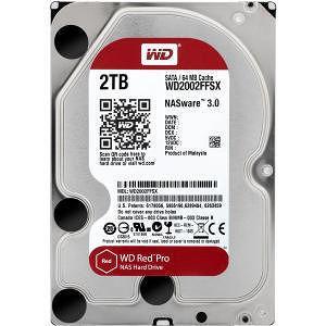"""WD WD2002FFSX Red Pro 2 TB 3.5"""" Internal Hard Drive - SATA"""