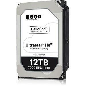 "HGST 0F30141 Ultrastar He12 4KN ISE HUH721212ALN600 12 TB 3.5"" SATA 7200RPM 256MB Cache Hard Drive"