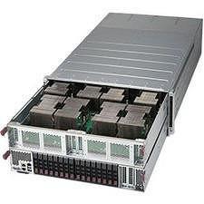 Supermicro SYS-4028GR-TVRT 4U Rackmount Barebone - Intel C612 Chipset - Socket R3 LGA-2011 - 2x CPU