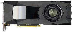 ZOTAC ZT-P10800D-10B GeForce GTX 1080 Graphic Card - 1.61 GHz Core - 8 GB GDDR5X - Dual Slot