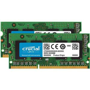 Crucial CT2K8G3S186DM 16GB (2 x 8 GB) DDR3L SDRAM Memory Module - Non-ECC - Unbuffered