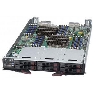Supermicro SBI-7128R-C6N Barebone System Blade - Intel C612 Chipset - Socket R3 LGA-2011-3 - 2x CPU