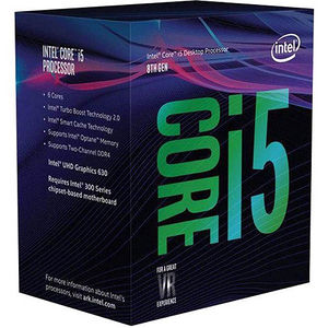 Intel BX80684I58600K Core i5 i5-8600K 6 Core 3.60 GHz Processor - Socket H4 LGA-1151 - Retail Pack
