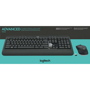 Logitech 920-008671 MK540 Wireless Keyboard Mouse Combo