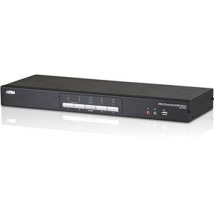 ATEN CS1644A 4-Port USB DVI Dual View KVMP Switch