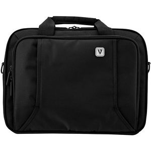 """V7 CCP16-BLK-9N PROFESSIONAL Carrying Case (Briefcase) for 16"""" Notebook, Smartphone, Accessories"""