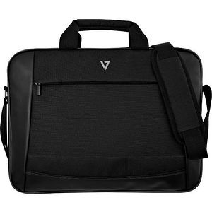 """V7 CTK16-BLK-9N Essential Carrying Case (Briefcase) for 16"""" Document, Notebook, Accessories - Black"""