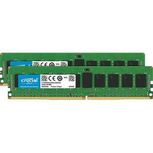 Crucial CT2K8G4RFS424A 16GB (2 x 8 GB) DDR4 SDRAM Memory Module - ECC - Registered