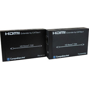 Comprehensive CHE-HDBT200 Pro AV/IT HDBaseT Extender over CAT5e/6/7 - 230 ft Range