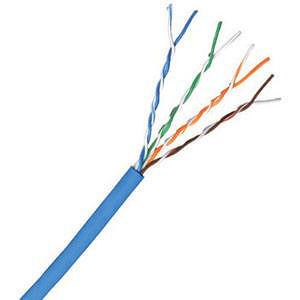 Comprehensive C5E350B-1000 Cat 5e 350MHz Solid Blue Bulk Cable 1000ft