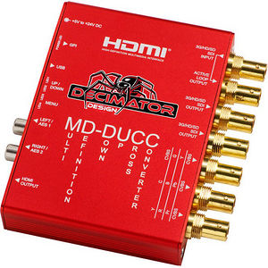 Decimator Design DD-DUCC MD-DUCC Multi-Definition Down Up Cross Converter