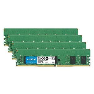 Crucial CT4K4G4RFS8266 16 GB Kit (4 x 4 GB) DDR4-2666 RDIMM - ECC - Registered