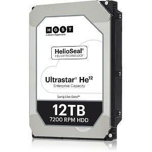 "HGST 0F29533 Ultrastar He12 512E TCP FIPS HUH721212AL5205 12 TB SAS 3.5"" 256MB 7200 RPM Hard Drive"
