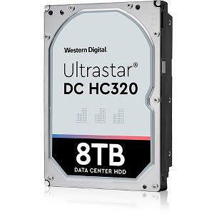 """HGST 0B36399 Ultrastar 7K8 4KN SE HUS728T8TAL4204 8 TB SAS 3.5"""" 7200 RPM 256 MB Cache Hard Drive"""