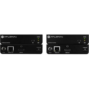 Atlona AT-HDR-EX-70-2PS 4K/UHD HDR 230ft (70m) HDMI Over HDBaseT TX/RX Kit