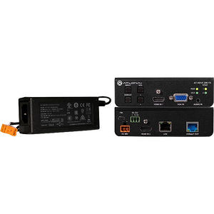 Atlona AT-HDVS-200-TX-PSK Three-Input Switcher for HDMI and VGA w/ Ethernet-Enabled HDBaseT Output
