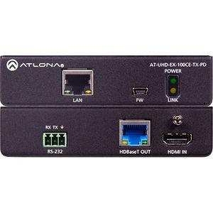 Atlona AT-UHD-EX-100CE-TX-PD 4K/UHD 100M HDBaseT Transmitter (Power Device)