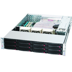Supermicro CSE-826TQ-R500LPB SuperChassis 826TQ-R500LPB Server Case Rack-Mountable - 2U
