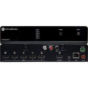 Atlona AT-UHD-SW-51 4K/UHD 5 In HDMI Switcher
