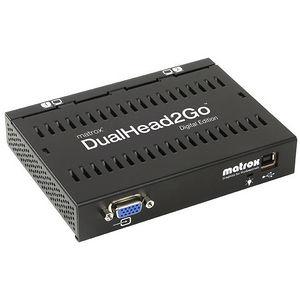 Matrox D2G-A2D-IF DualHead2Go Digital Edition - VGA