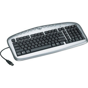 Tripp Lite IN3005KB USB Multimedia Keyboard Notebook / Laptop Computer Peripheral Devices
