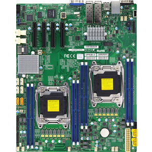 Supermicro MBD-X10DRD-INT-O Server Motherboard - Intel C612 Chipset - Socket LGA 2011-v3 - Retail