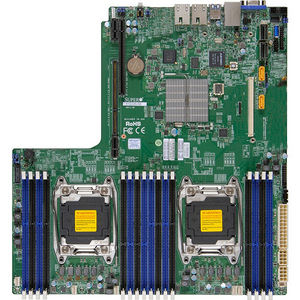 Supermicro MBD-X10DDW-I-O Server Motherboard - Intel C612 Chipset - Socket LGA 2011-v3 - Retail