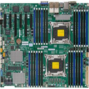 Supermicro MBD-X10DRI-LN4+-B Server Motherboard - Intel C612 Chipset - Socket LGA 2011-v3 - Bulk