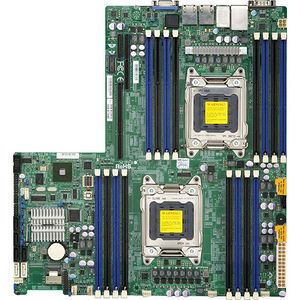 Supermicro MBD-X9DRW-IF-B Server Motherboard - Intel C602 Chipset - Socket R LGA-2011 - Bulk