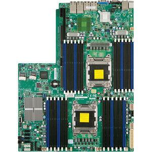 Supermicro MBD-X9DRW-3LN4F+-B Server Motherboard - Intel C606 Chipset - Socket R LGA-2011 - Bulk