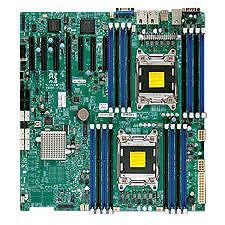 Supermicro MBD-X9DRH-IF-B Server Motherboard - Intel C602 Chipset - Socket R LGA-2011 - Bulk