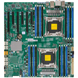 Supermicro MBD-X10DAC-B Server Motherboard - Intel C612 Chipset - Socket LGA 2011-v3 - 1 x Bulk