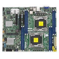 Supermicro MBD-X10DRL-CT-O Server Motherboard - Intel C612 Chipset - Socket R LGA-2011 - 1 x Retail