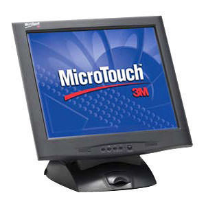 3M 11-91378-227 MicroTouch M1700SS Touchscreen LCD Monitor - 17""
