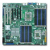Supermicro MBD-X8DTN+-O X8DTN+ Server Motherboard - Intel 5520 Chipset - Socket B LGA-1366 - Retail