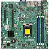 Supermicro MBD-X10SLM+-LN4F-B Server Motherboard - Intel C224 Chipset - Socket H3 LGA-1150 - Bulk