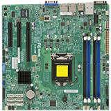 Supermicro MBD-X10SLM-F-O Server Motherboard - Intel C224 Chipset - Socket H3 LGA-1150 - Retail