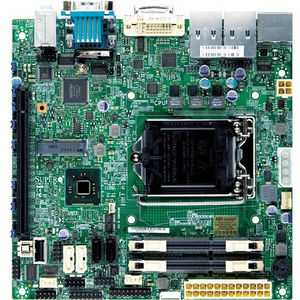 Supermicro MBD-X10SLV-Q-B Desktop Motherboard - Intel Q87 Express Chipset - Socket H3 LGA-1150