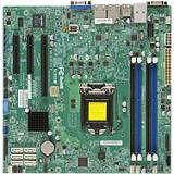 Supermicro MBD-X10SLM+-F-B Server Motherboard - Intel C224 Chipset - Socket H3 LGA-1150 - 1 x Bulk