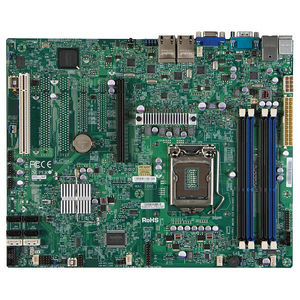 Supermicro MBD-X9SCI-LN4F-O Server Motherboard - Intel C204 Chipset - Socket H2 LGA-1155 - Retail