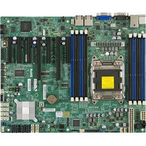 Supermicro MBD-X9SRL-B X9SRL Server Motherboard - Intel C602 Chipset - Socket R LGA-2011 - 1 x Bulk