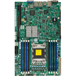 Supermicro MBD-X9SRW-F-B X9SRW-F Server Motherboard - Intel C602 Chipset - Socket R LGA-2011 - Bulk