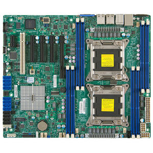 Supermicro MBD-X9DRL-3F-B Server Motherboard - Intel C606 Chipset - Socket R LGA-2011 - Bulk