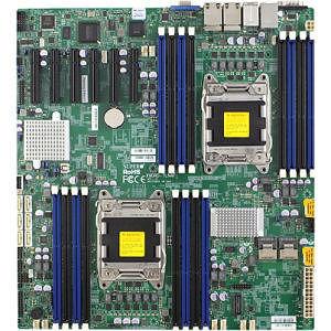 Supermicro MBD-X9DRD-7JLN4F-B Server Motherboard - Intel C602-J Chipset - Socket R LGA-2011 - Bulk