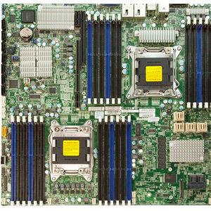 Supermicro MBD-X9DRD-IT+-O Server Motherboard - Intel C602 Chipset - Socket R LGA-2011 - Retail